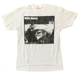 Willie Nelson - Mens Cowboy T-Shirt