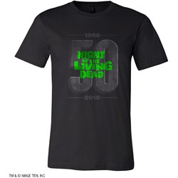Night Of The Living Dead - Mens 50 Years Limited Edition T-Shirt