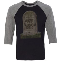 Night Of The Living Dead - Mens 50Th Anniversary 3/4 Sleeve T-Shirt