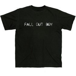 Fall Out Boy - Mens Mania Wave T-Shirt