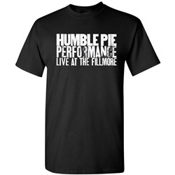 Humble Pie - Mens Live At The Fillmore T-Shirt