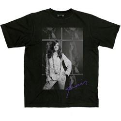 Janis Joplin - Mens Baron Wolman Photo T-Shirt