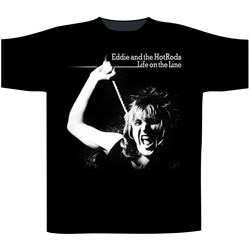 Eddie & The Hotrods - Mens Life On The Line T-Shirt