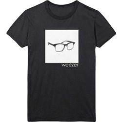 Weezer - Mens Pixel Glasses T-Shirt