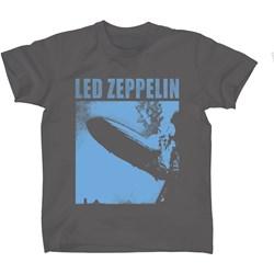 Led Zeppelin - Mens Blue Zeppelin T-shirt