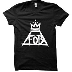 Fall Out Boy - Womens Crown Logo T-shirt