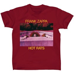 Frank Zappa - Mens Hot Rats T-shirt