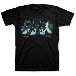 The Beatles - Mens Abbey Stride T-shirt