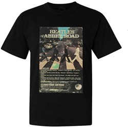 The Beatles - Mens Abbey Road Eight-Track T-shirt