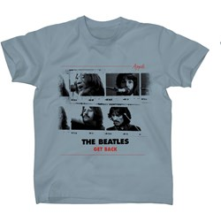 The Beatles - Mens Get Back T-shirt