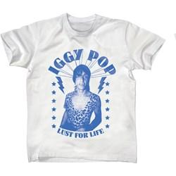 Iggy Pop - Mens Iggy – Lust for Life Bootleg T-shirt