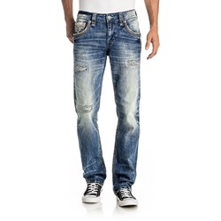 Rock Revival - Mens Matlock J200 Straight Jeans