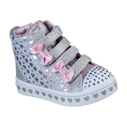 Skechers - Girls Twi-Lites - Heather & Shine Shoe