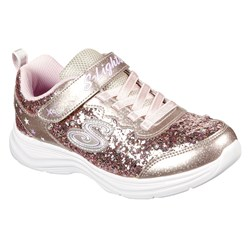 Skechers - Girls Glimmer Kicks-Glitter N'Glow Shoe