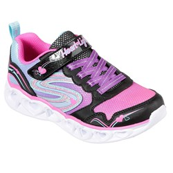 Skechers - Girls Heart Lights-Love Spark Shoe