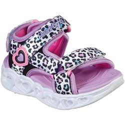 Skechers - Girls Heart Lights Sandals-Savvy Ca Shoe