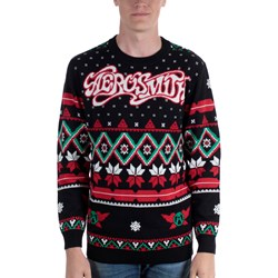 Aerosmith - Unisex-Adult Aero Holiday Sweater