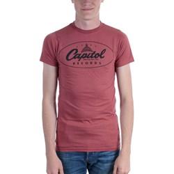 Capitol Records - Mens Oval Logo T-Shirt