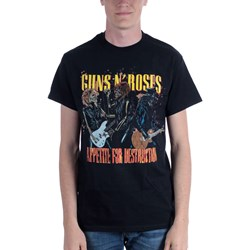 Guns N Roses - Mens Appetite For Destruction T-Shirt