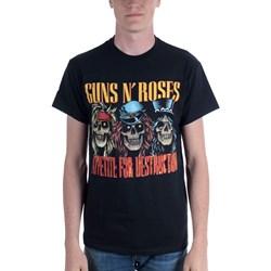 Guns N Roses - Mens Afd Skulls T-Shirt