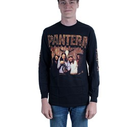 Pantera - Mens Group Photo Long Sleeve T-Shirt