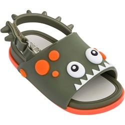 Melissa - Unisex-Child Mini Beach Slide Dino Sandal