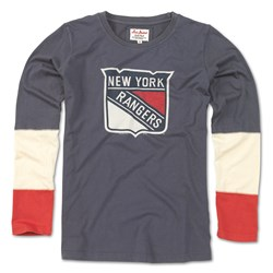 New York Rangers - Womens Amelia 17 Long Sleeve T-Shirt