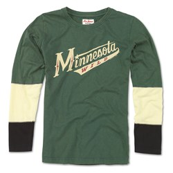 Minnesota Wild - Womens Amelia 17 Long Sleeve T-Shirt
