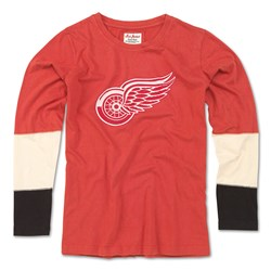 Detroit Red Wings - Womens Amelia 17 Long Sleeve T-Shirt
