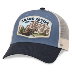 Grand Teton National Park - Mens Barley 2 Snapback Hat