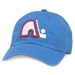 Quebec Nordiques - Mens Blue Line Snapback Hat