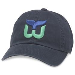 Hartford Whalers - Mens Blue Line Snapback Hat