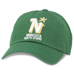 Minnesota North Stars - Mens Blue Line Snapback Hat