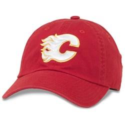 Calgary Flames - Mens Blue Line Snapback Hat