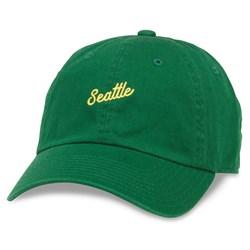 Seattle - Mens Board Shorts Snapback Hat