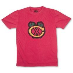 Chicago Blackhawks - Mens Brass Tacks T-Shirt