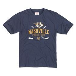 Nashville Predators - Mens Brass Tacks 2 T-Shirt
