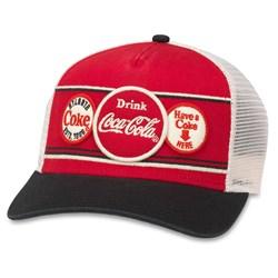 Coke - Mens Domino Snapback Hat