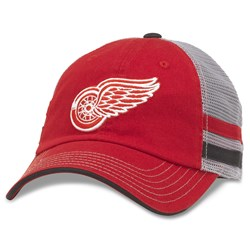 Detroit Red Wings - Mens Foundry Grey Snapback Hat