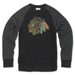 Chicago Blackhawks - Mens Fremont Long Sleeve T-Shirt