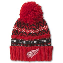 Detroit Red Wings - Mens Gusto Knit Snapback Hat