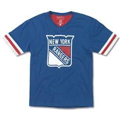 New York Rangers - Mens Hat Trick T-Shirt