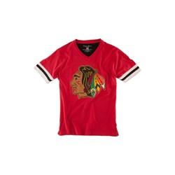 Chicago Blackhawks - Mens Hat Trick T-Shirt