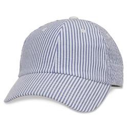 American Needle - Womens Ladies Seersucker Snapback Hat