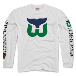 Hartford Whalers - Mens Maverick Tee Long Sleeve T-Shirt