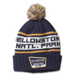 Yellowstone National Park - Mens Pillow Line Knit Snapback Hat