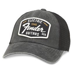 Fender - Mens Raglan Bones Snapback Hat