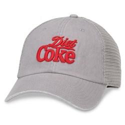 Diet Coke - Mens Raglan Bones Snapback Hat