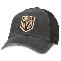 Vegas Golden Knights - Mens Raglan Bones Snapback Hat
