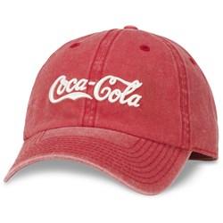Coca-Cola - Mens Raglan Wash Snapback Hat